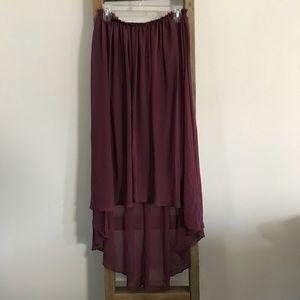 High Low Dress OR Skirt